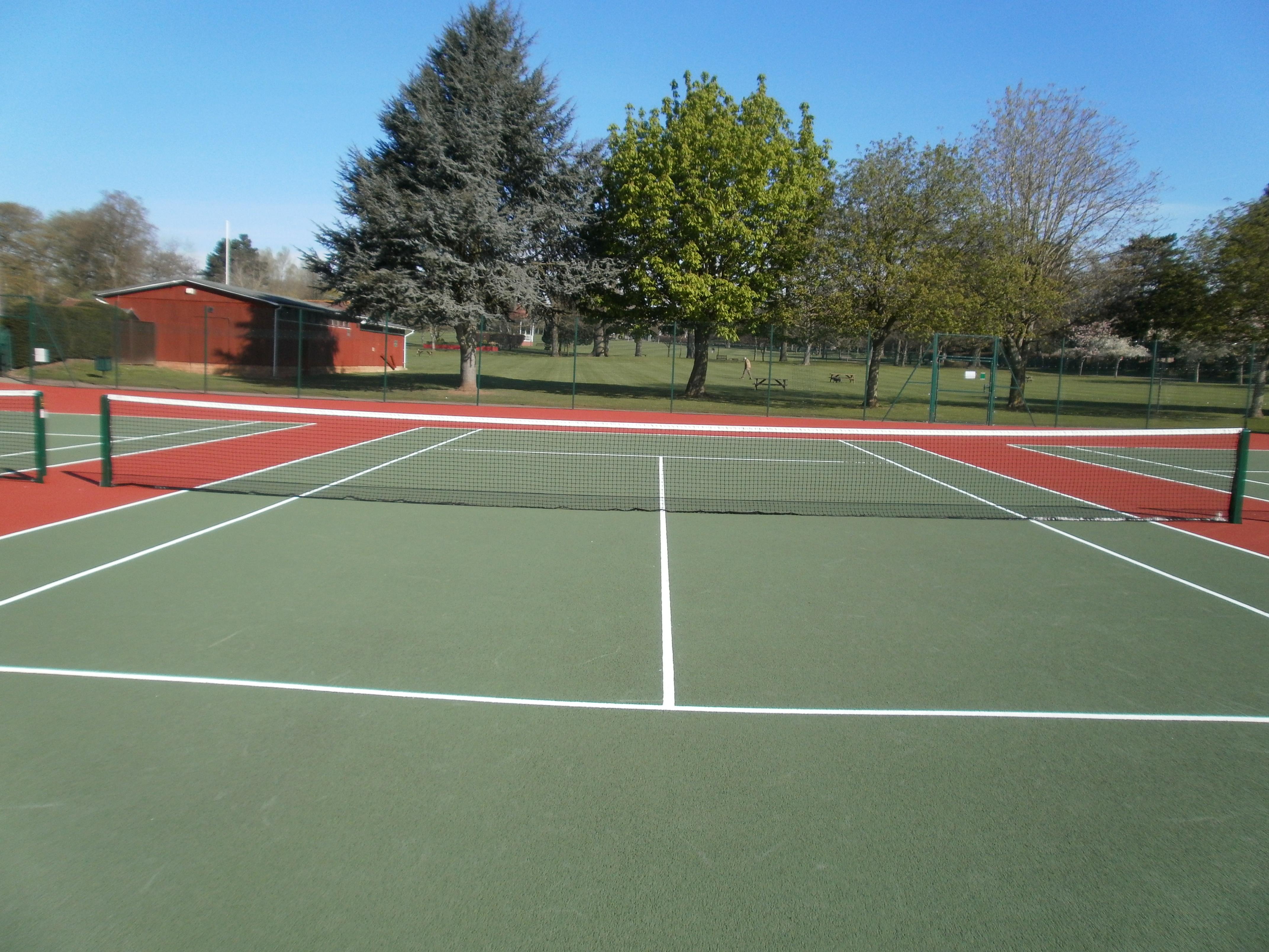 John Coles Park tennis courts