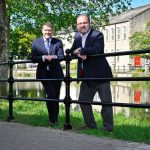 Railings boost safety by river