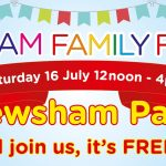 It's tomorrow! Pewsham free family fun day