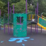 New play equipment at Stainers Way