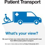 Patient Transport - Whats your view?