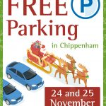 FREE parking Christmas lights weekend