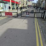 High Street gates