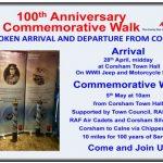100th Anniversary commemorative walk