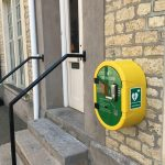 New DeFibrillator fitted