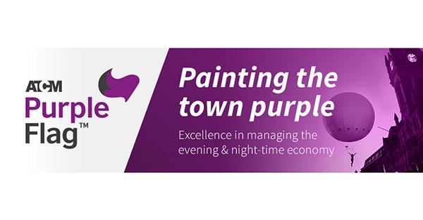 Purple Flag Banner