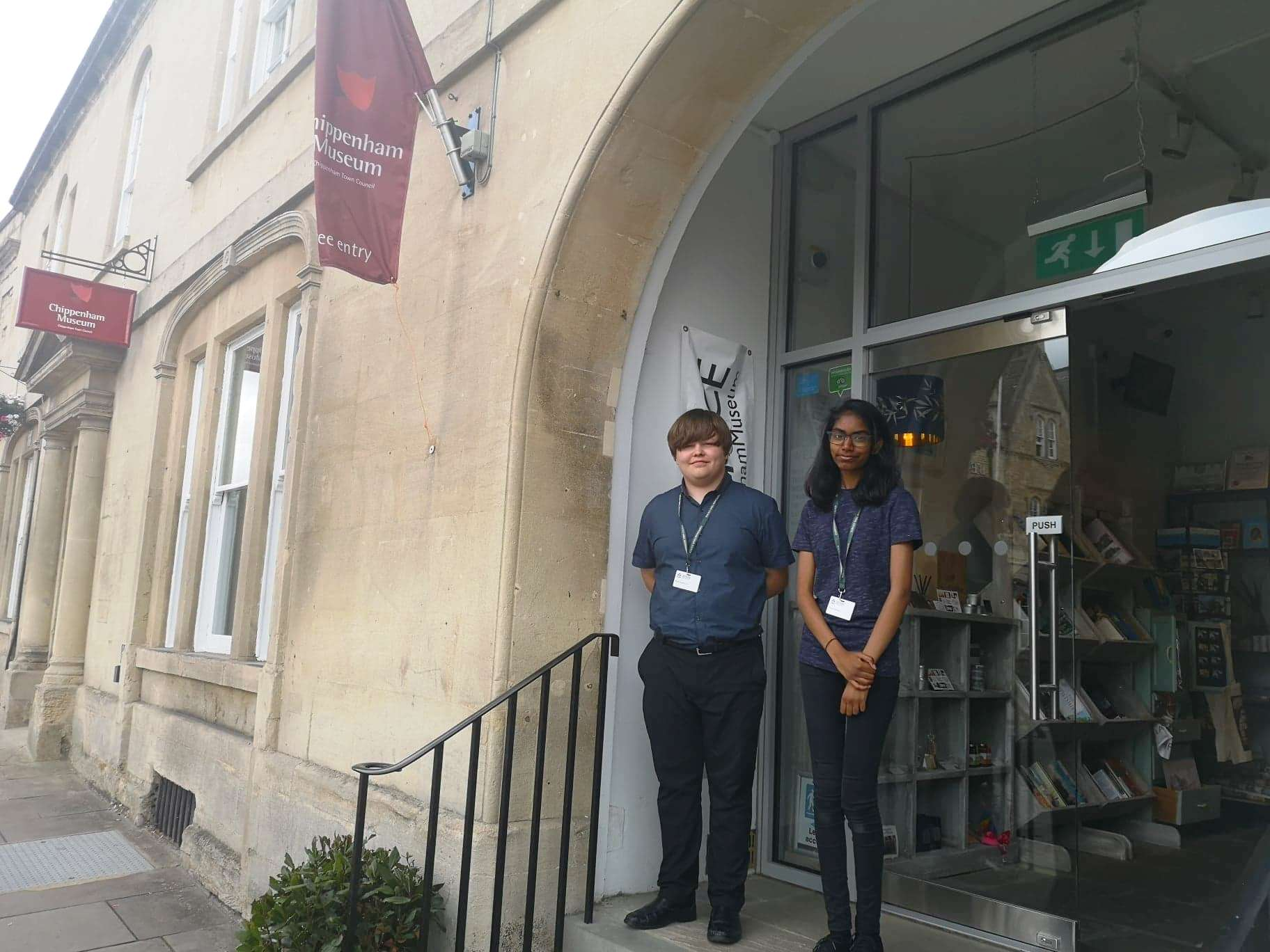 Our Work Experience With Chippenham Museum Chippenham Town