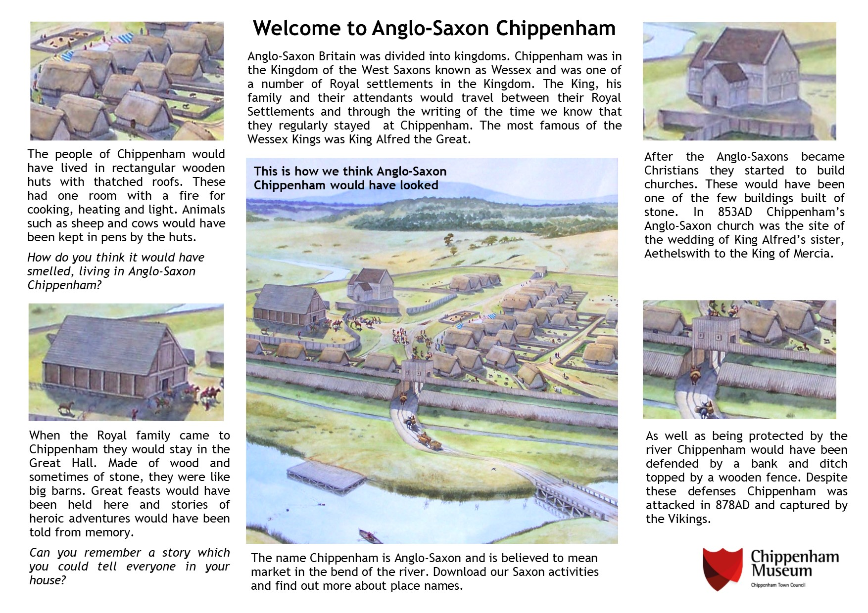 Welcome to Anglo-Saxon Chippenham information Sheet