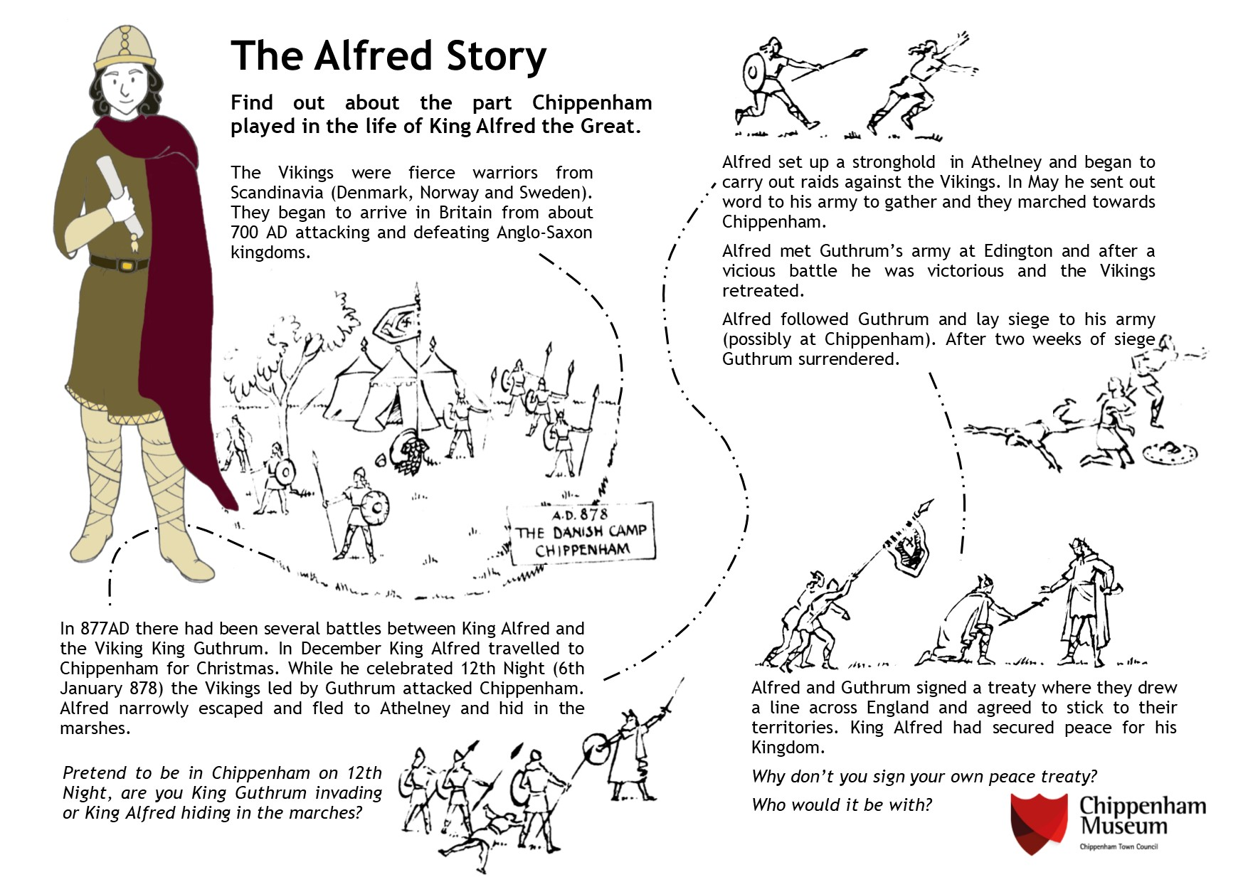 The Alfred Story information sheet