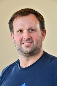 Councillor Chris Ruck, Blue top