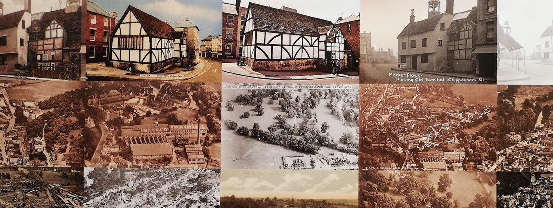 collection of chippenham postcards