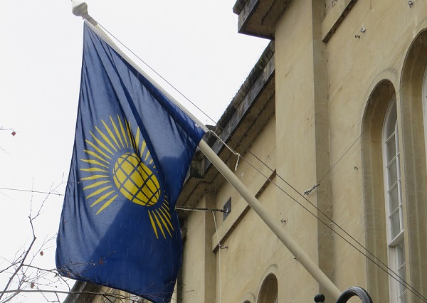 Commonwealth Flag flying at the Town Hall