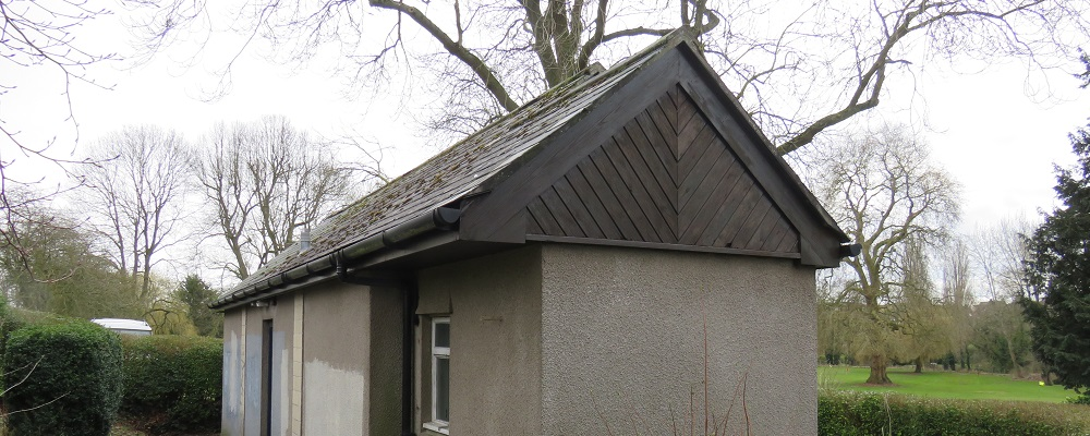 Newly painted toilet block in Monkton Park